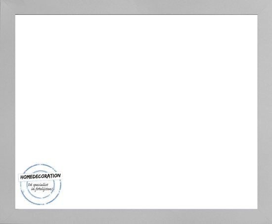 Homedecoration Misano – Fotolijst – Fotomaat – 72 x 87 cm  – Zilver mat