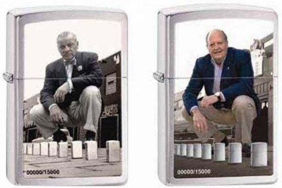 Set van 2 Aanstekers Zippo Mr. Blaisdell/Mr. Duke Limited Edition