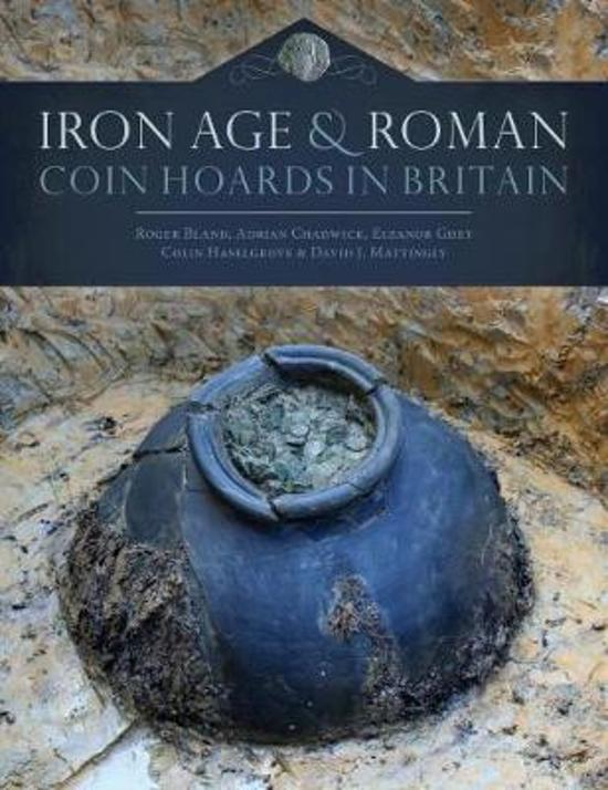 Boek cover Iron Age and Roman Coin Hoards in Britain van Roger Bland (Hardcover)