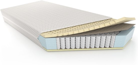 Perfectmatras Latex Matras 90x200 - Anti Alergisch - 22 cm hoog