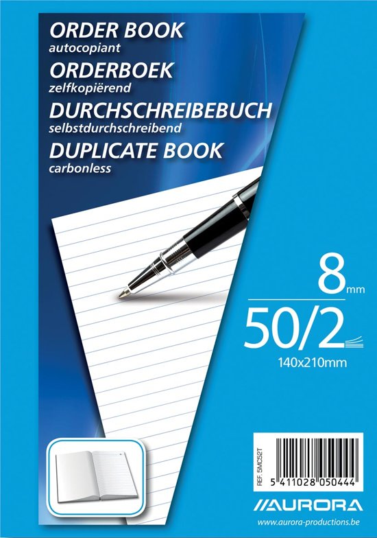 Aurora orderboek A5