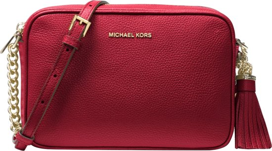 | Michael Kors Handtassen Medium Camera Bag Rood