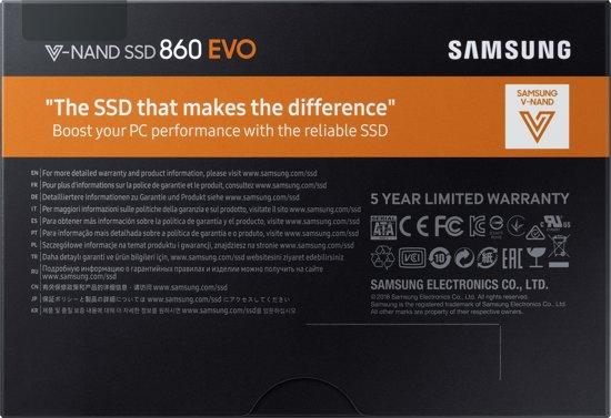 Samsung 860 EVO 250GB 2,5 inch