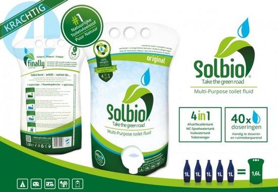 Chemisch Toilet Biologisch Afbreekbaar.Solbio Original Biologische Toiletvloeistof