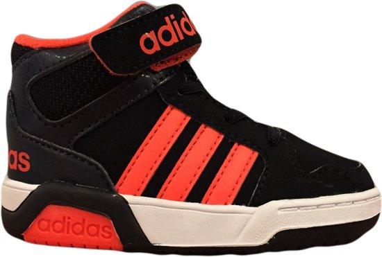 Adidas BB9TIS Kinder Sneaker - Zwart/Oranje - Maat 20