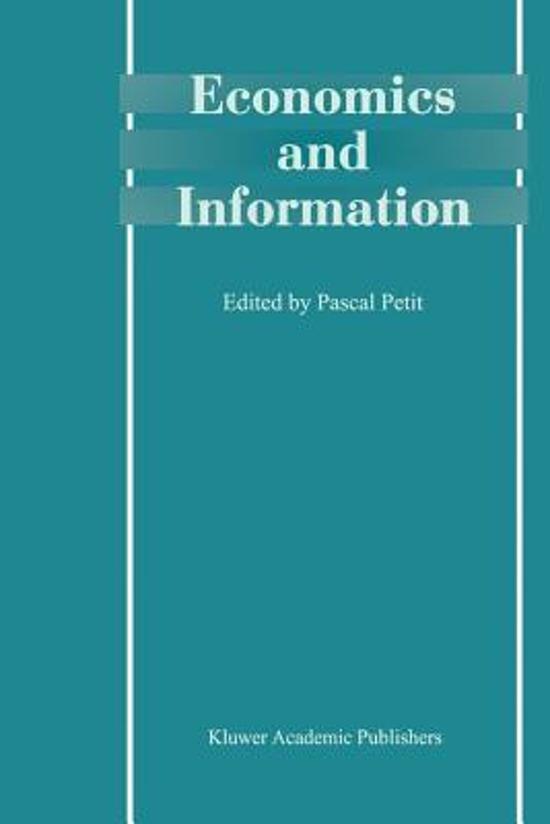 Economics and Information