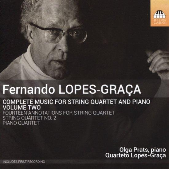 Complete Music For String Quartet & Pian