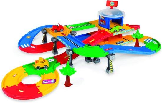 Speelgoed Garage Wader : Bol wader kids cars d spoor en garage set m wader