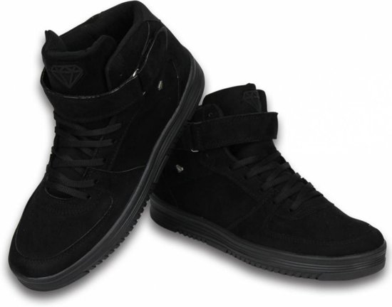 Cash Money Heren Schoenen - Heren Sneaker High - Dolce Black - Maten: 43