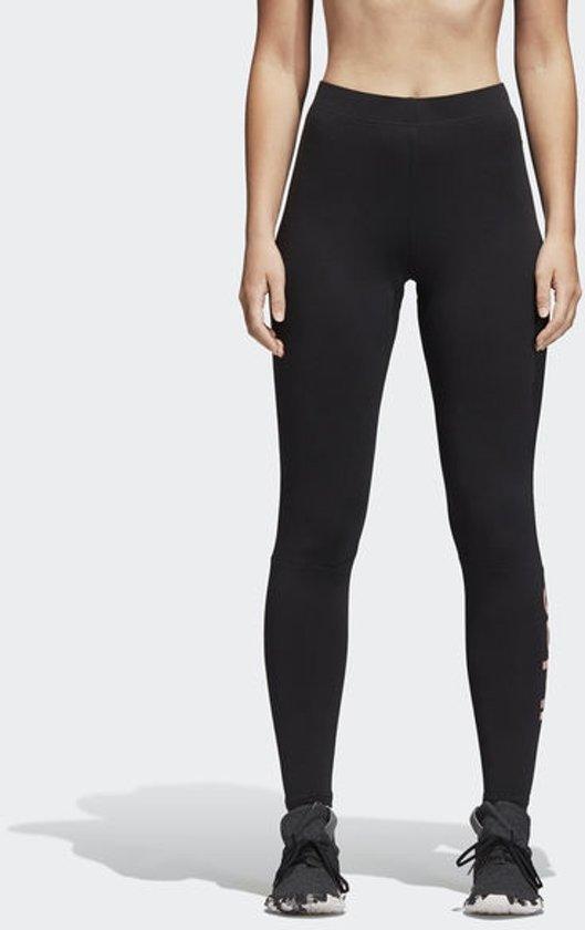 37aa09e374d bol.com   adidas Essentials Linear Tight Sportlegging Dames - Black ...