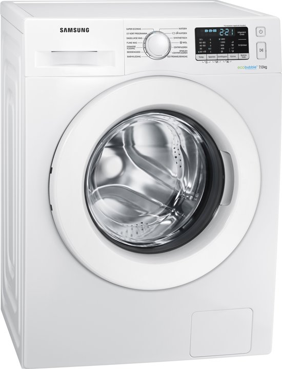 Samsung WW70J5585MW - Eco Bubble - Wasmachine
