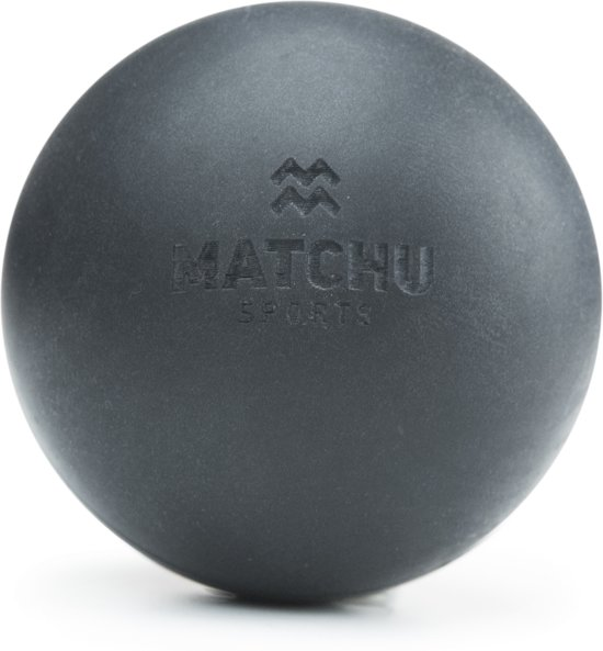 Matchu Sports - Lacrosse ball - Massage bal - Zwart