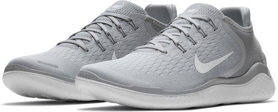 40 2018 Sneakers white volt Wolf Free Rn 5 Maat white Grey Heren Nike PgwqfE