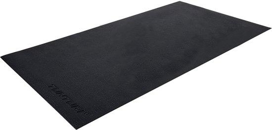 Tunturi Crosstrainer mat - Vloerbeschermmat - 160x87x0,5cm - Zwart