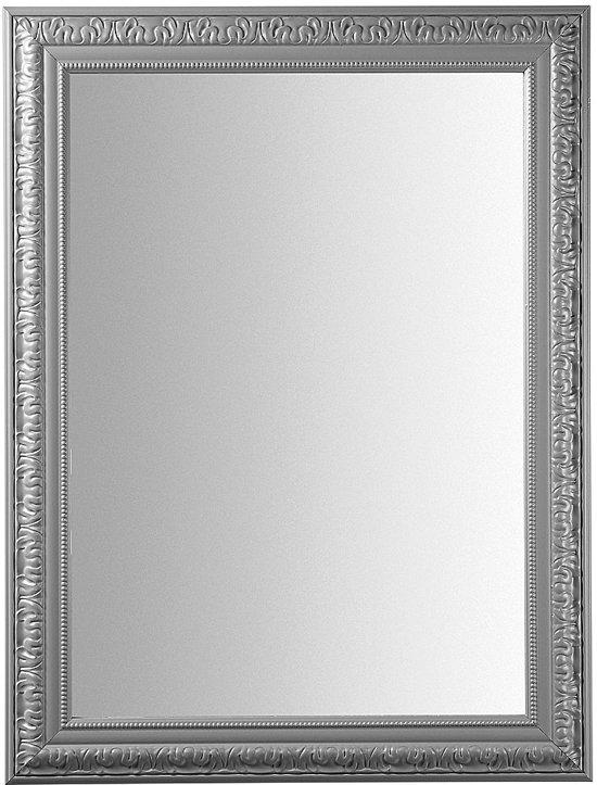 Laforma nature spiegel hout 80x60 cm grijs for Spiegel 80x60