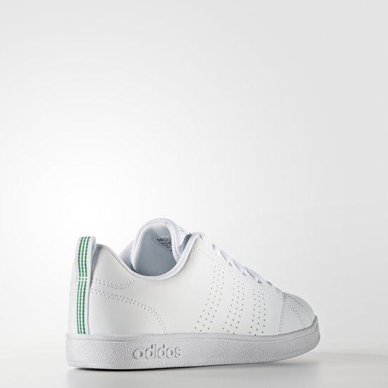 8ce92ff9f48 Unisex Adidas Advantage 35 Sneakers K White Clean Vs Maat rXX7wqP