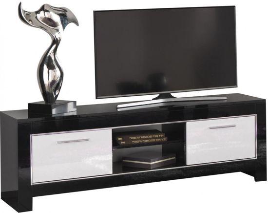Bol modena tv meubel design van cm in zwart en witte
