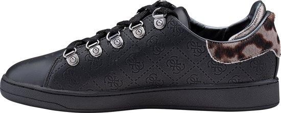 Guess Charlez Dames Sneakers Maat 37 Zwart