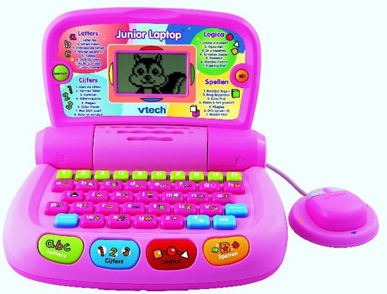 VTech Junior Laptop - Roze