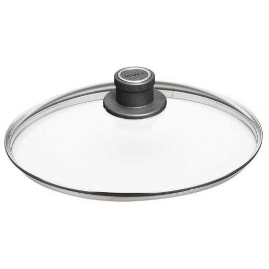 Veiligheids glasdeksel - 34 cm - Woll