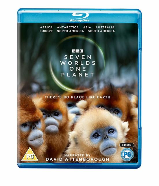 DVD cover van Seven Worlds, One Planet (Blu-ray)
