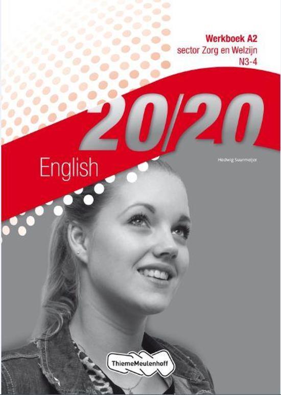 20 20 English Sector zorg en welzijn N3 4 deel Werkboek
