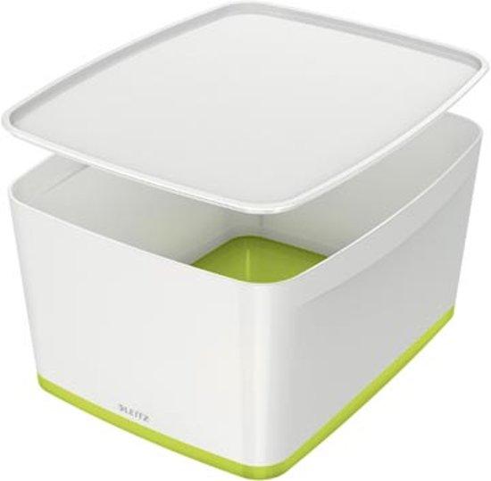 Leitz Mybox grote opbergdoos met deksel Groen