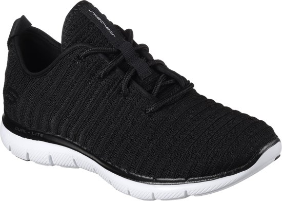 Skechers Sportschoenen Dames FLEX APPEAL 2.0-ESTATES - 12899 BKW Black/White