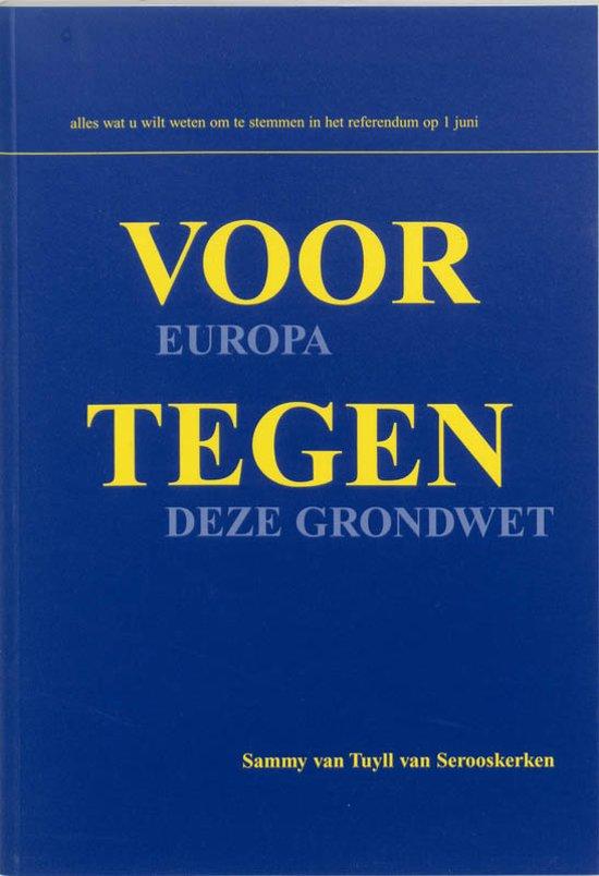 Voor Europa, tegen deze grondwet