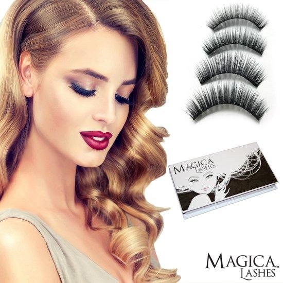 3D Magnetische Nepwimpers van Magica Lashes™ - 100% Silk - De beste kwaliteit hergebruikbare magnetische wimpers op de markt