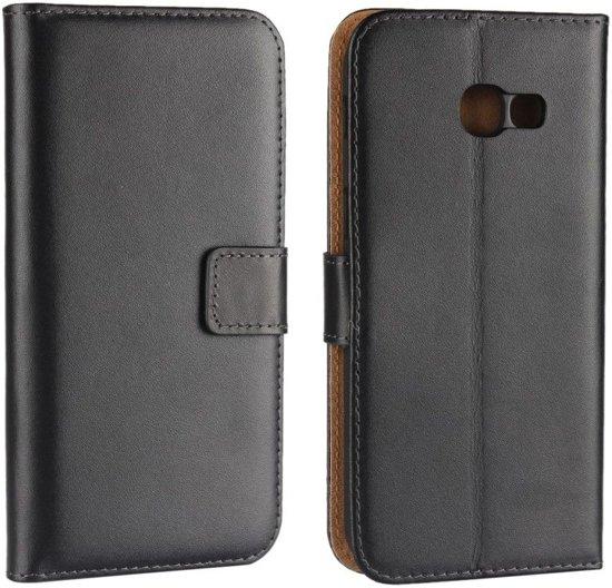 Samsung Galaxy A5 (2017) Elegant Wallet Case - met stand - Black in Blokzijl