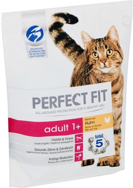 Perfect Fit Adult - Kip - Kattenvoer - 4 x 1.4 kg