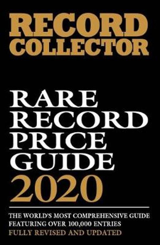Boek cover Rare Record Price Guide 2020 van  (Paperback)