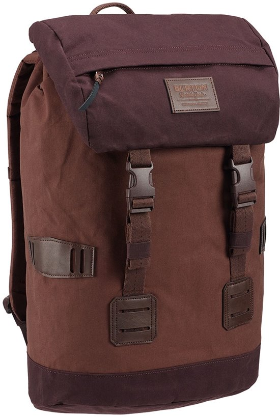 Tinder Canvas Rugzak Cocoa Pack Waxed Brown Burton WED2I9H