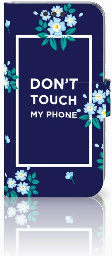 Sony Xperia XA | XA Dual Bookcase Flowers Blue DTMP