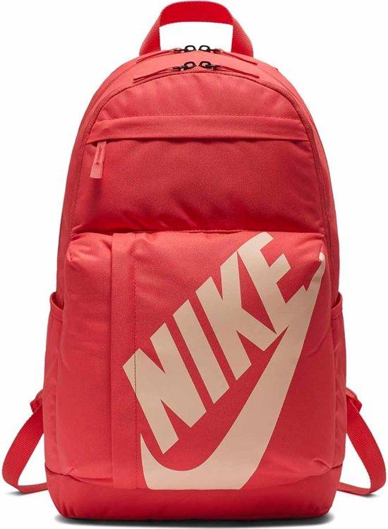 5420b4d72e0 Nike Element Backpack Rugzak Unisex - Ember Glow/Ember Glow/Crimson Tint -  Maat