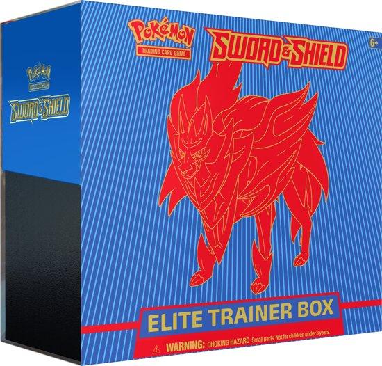Afbeelding van Pokémon Sword & Shield Elite Trainer Box Zamazenta