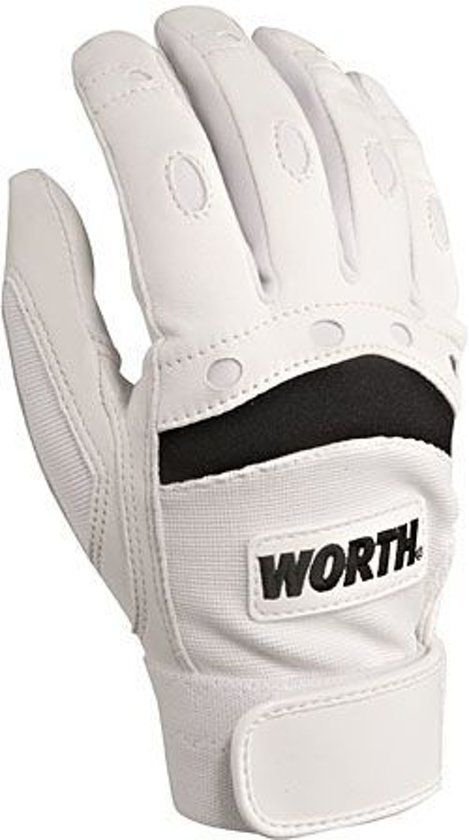 Worth Prodigy Softbal Slaghandschoentjes - Paar - Wit-Zwart - X-Large