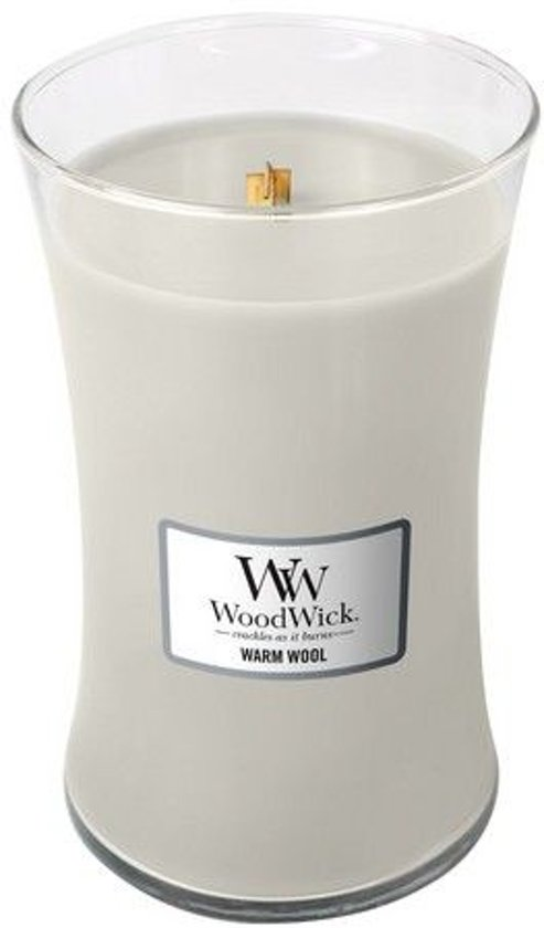 WoodWick Warm Wool Large Candle Valentinaa