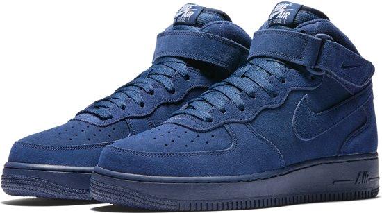 nike air force 1 donker blauw