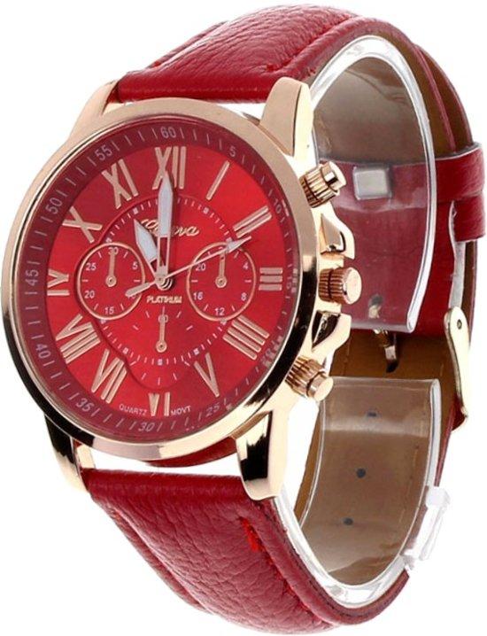 Horloge Geneva Roman Rood