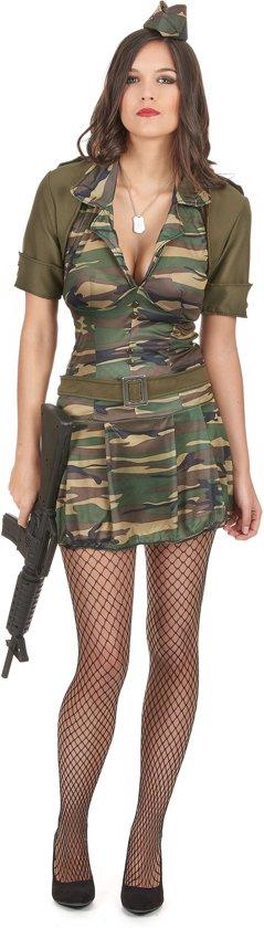 Sexy soldaten kostuum voor vrouwen - Volwassenen kostuums