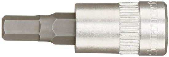 """""""Schroevendraaier-dopsleutel voor binnenzeskantschroeven CV-staal 1/4"""""""", 6x36mm"""""""