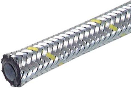 Olie- en brandstofslang met vlechtwerk van verzinkt staal  4.5x9.5 mm 10 m - HL-R-ZBR-4p5x9p5-10