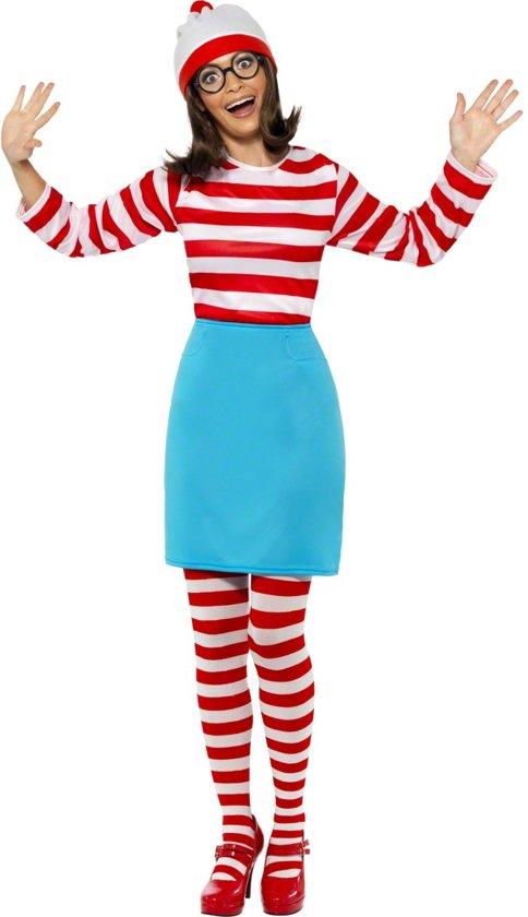 Carnavalskleding Dames.Bol Com Wheres Wally Wenda Kostuum Carnavalskleding Dames Maat