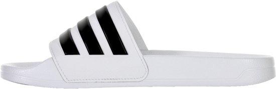 Adidas Adilette Slippers Volwassenen - Wit;zwart