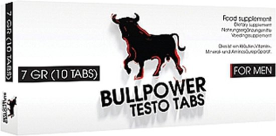 Bull Power Testo Tabs Erectiepillen