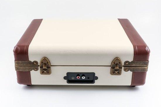 GPO Ambassador Bluetooth Draadloze Platenspeler Creme