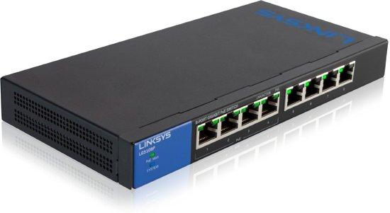 Linksys LGS108P - Switch