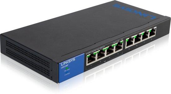 Linksys LGS108P PoE Switch